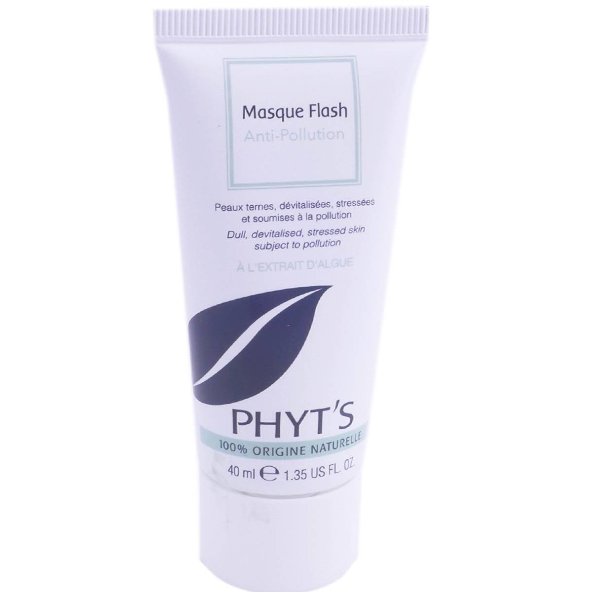 Phyt's masque flash anti-pollution peaux ternes 40ml