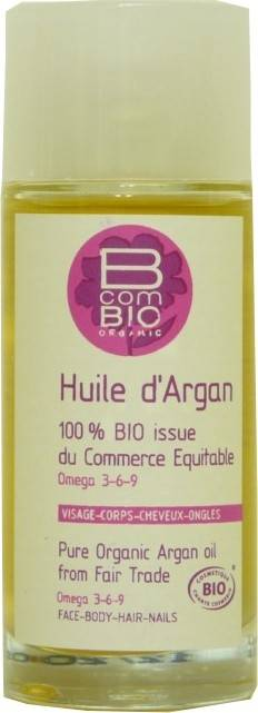 B com bio huile d' argan 50ml