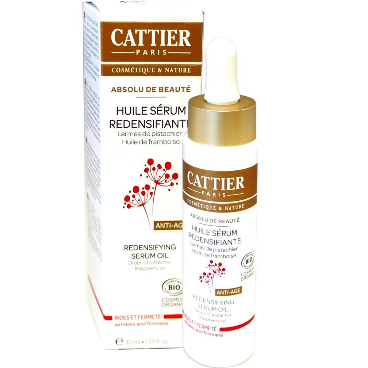 Cattier huile serum redensifiante bio 30ml