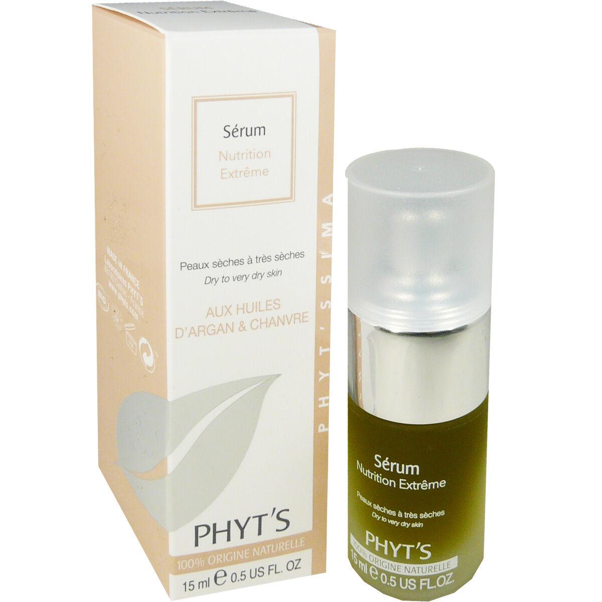 Phyt's nutrition extreme serum huiles d'argan & chanvre 15 ml