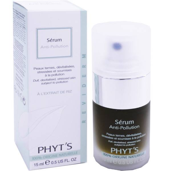 Phyt's serum anti-pollution 15 ml peaux ternes