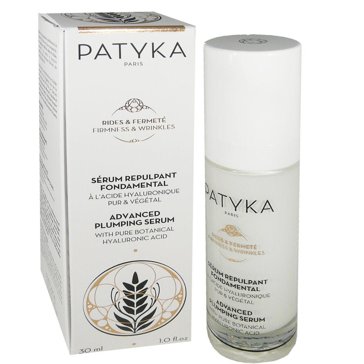 Patyka serum repulpant acide hyaluronique 30 ml bio /vegan