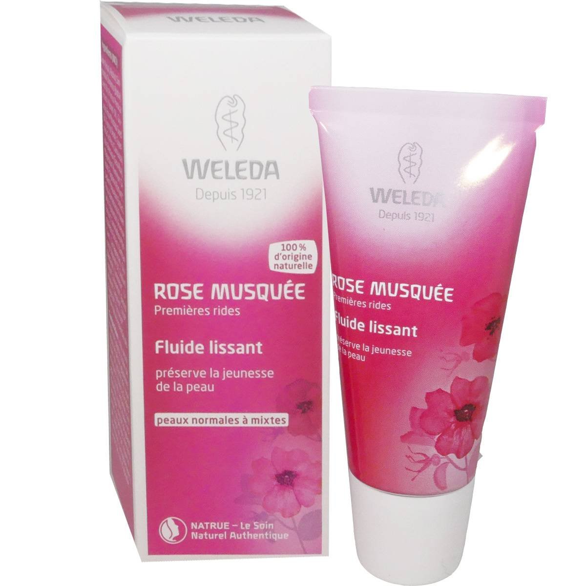 Weleda rose musquee fluide lissant