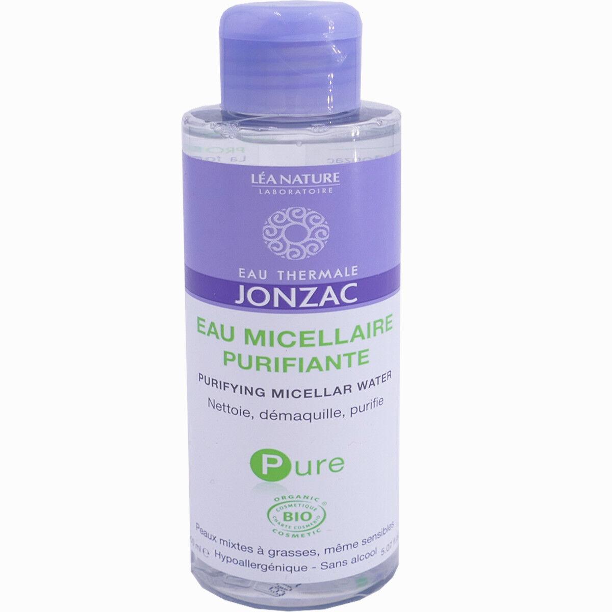 Jonzac eau micellaire purifiante bio 150 ml