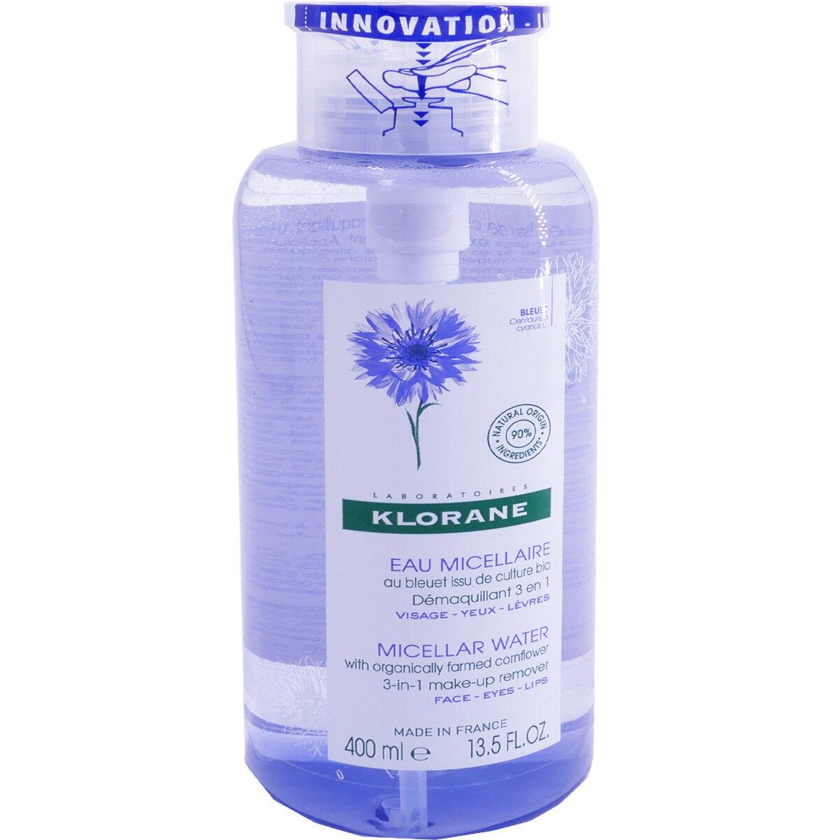 Klorane eau micellaire bleuet 400 ml