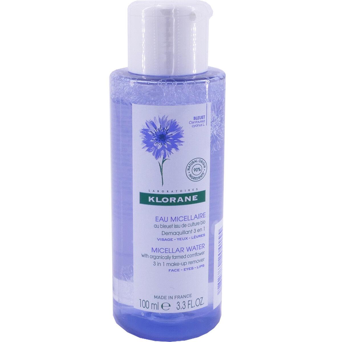 Klorane eau micellaire bleuet 100 ml