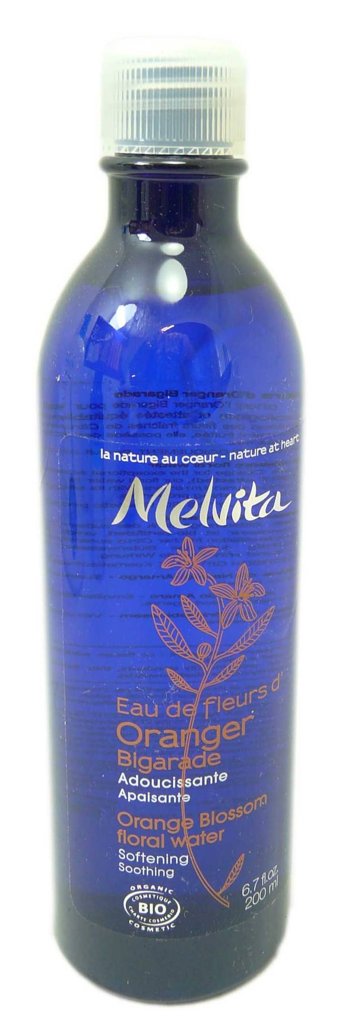 Melvita eau de fleur d'oranger fl200ml