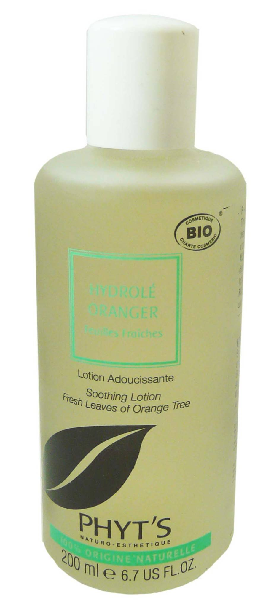 Phyt's hydrole oranger lotion adoucissante 200ml