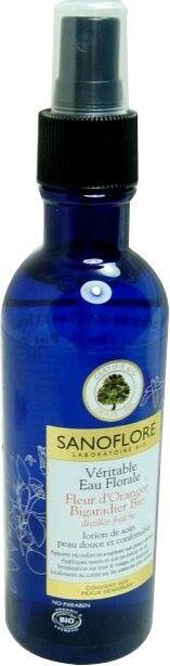 Sanoflore veritable eau florale d'oranger bio 200ml