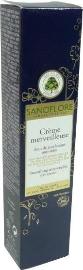 Sanoflore creme merveilleuse soin jour lissant 40ml