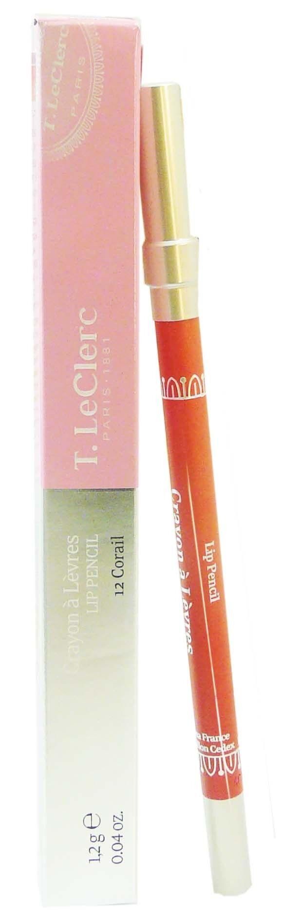 T.LECLERC T leclerc crayon a levres n°12 corail