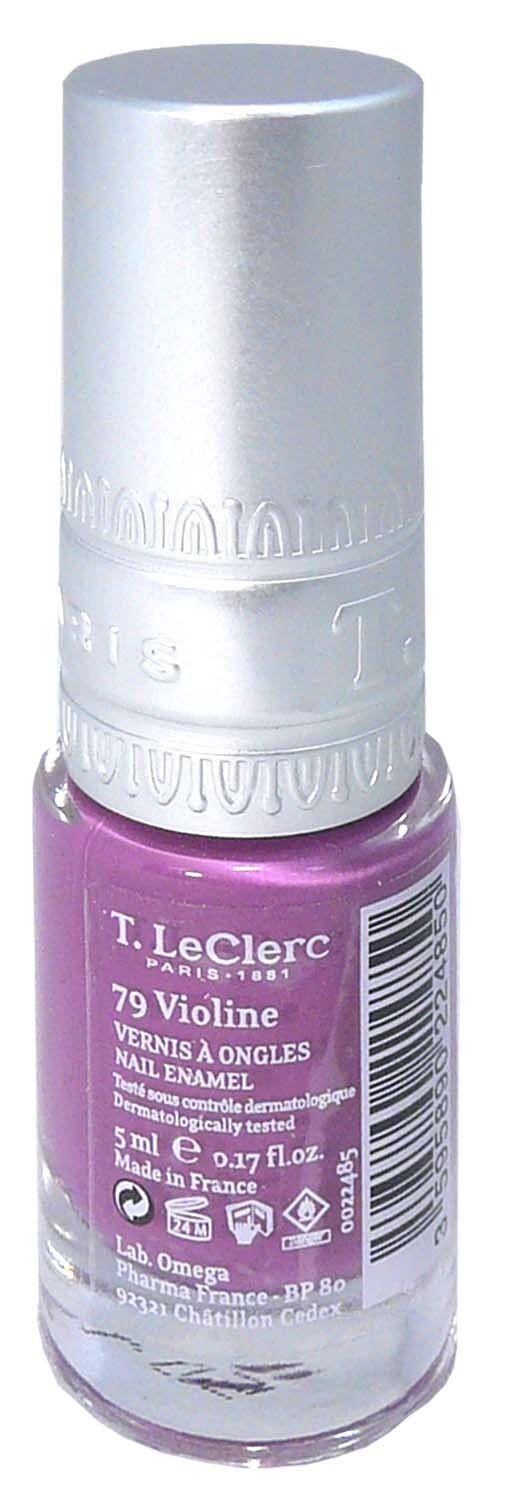 T.leclerc vernis 79 violine 5ml
