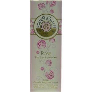 Roger gallet eau douce parfumee rose 100ml - Publicité