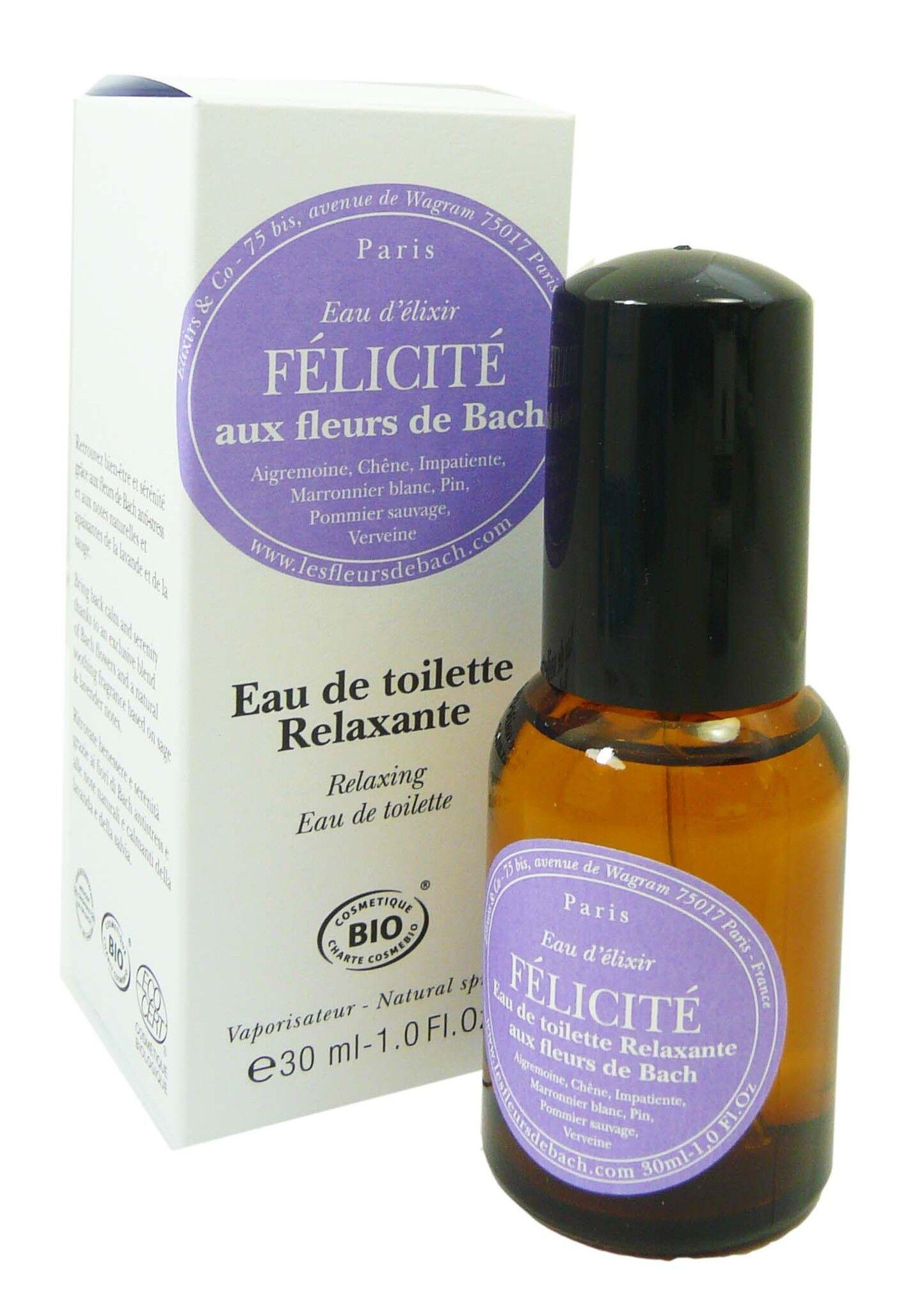 FLEUR BACH FAMADEM Elixirs & co fleurs de bach eau de toilette felicite relaxante 30ml
