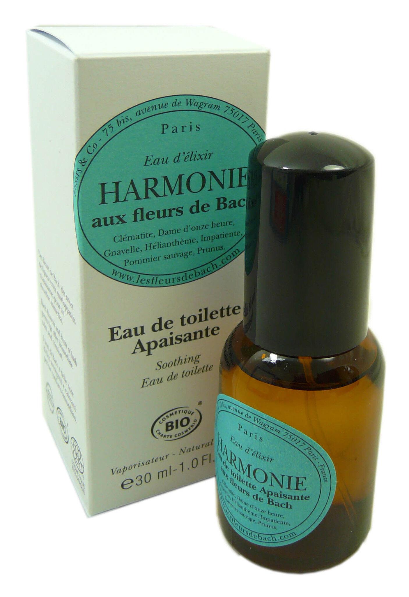 Elixirs & co fleurs de bach eau de toilette harmonie bio 30ml
