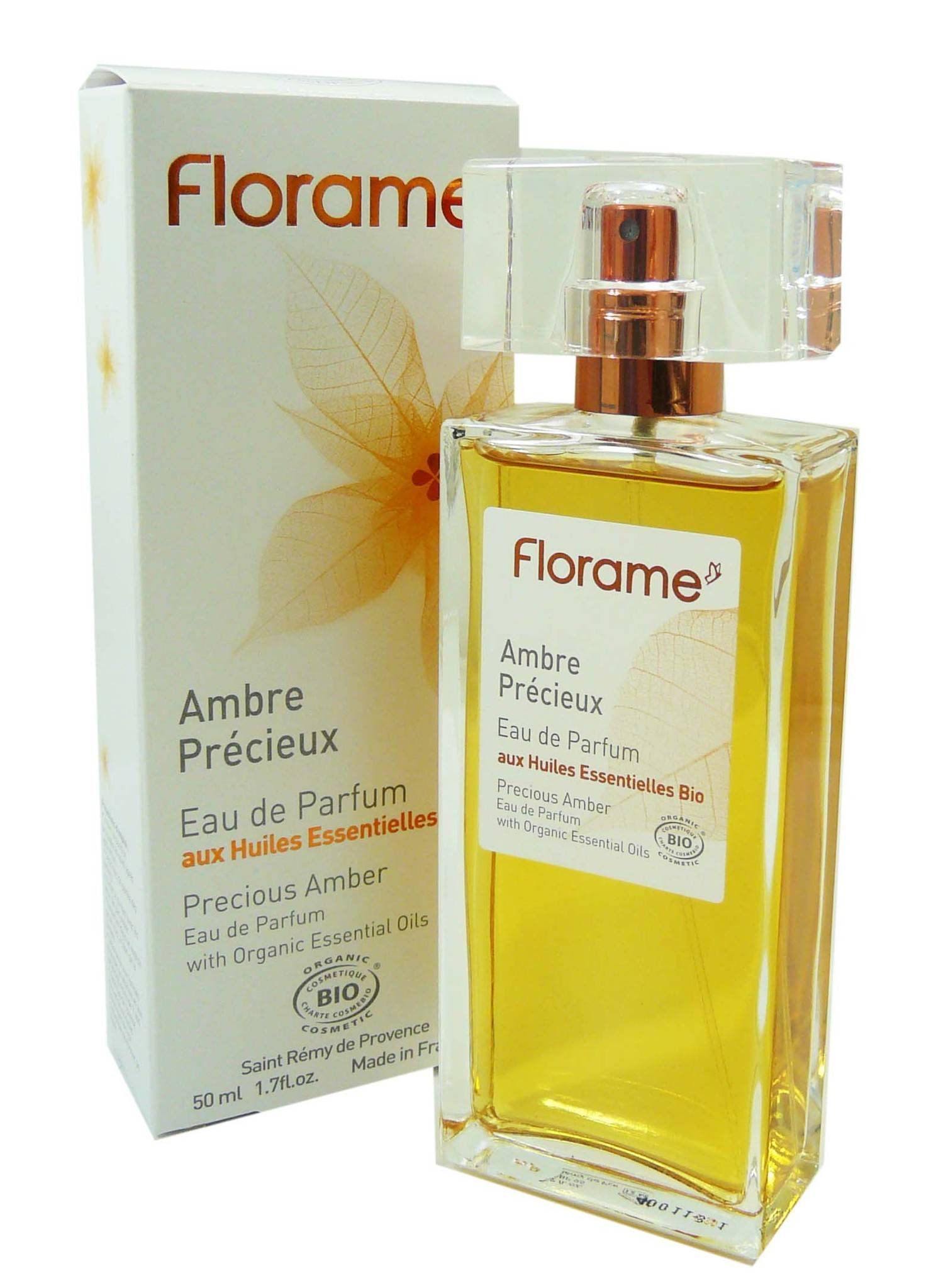 Florame eau de parfum ambre precieux 50ml