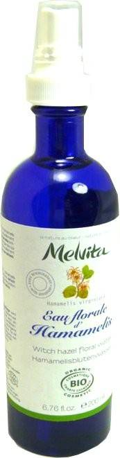Melvita eau florale d'hamamelis spray 200ml
