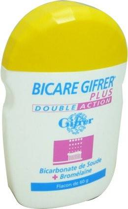GIFRER Bicare gifrer plus dentifrice bicarbonate + bromelaine 60g