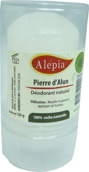 Alepia deodorant pierre d'alun120g