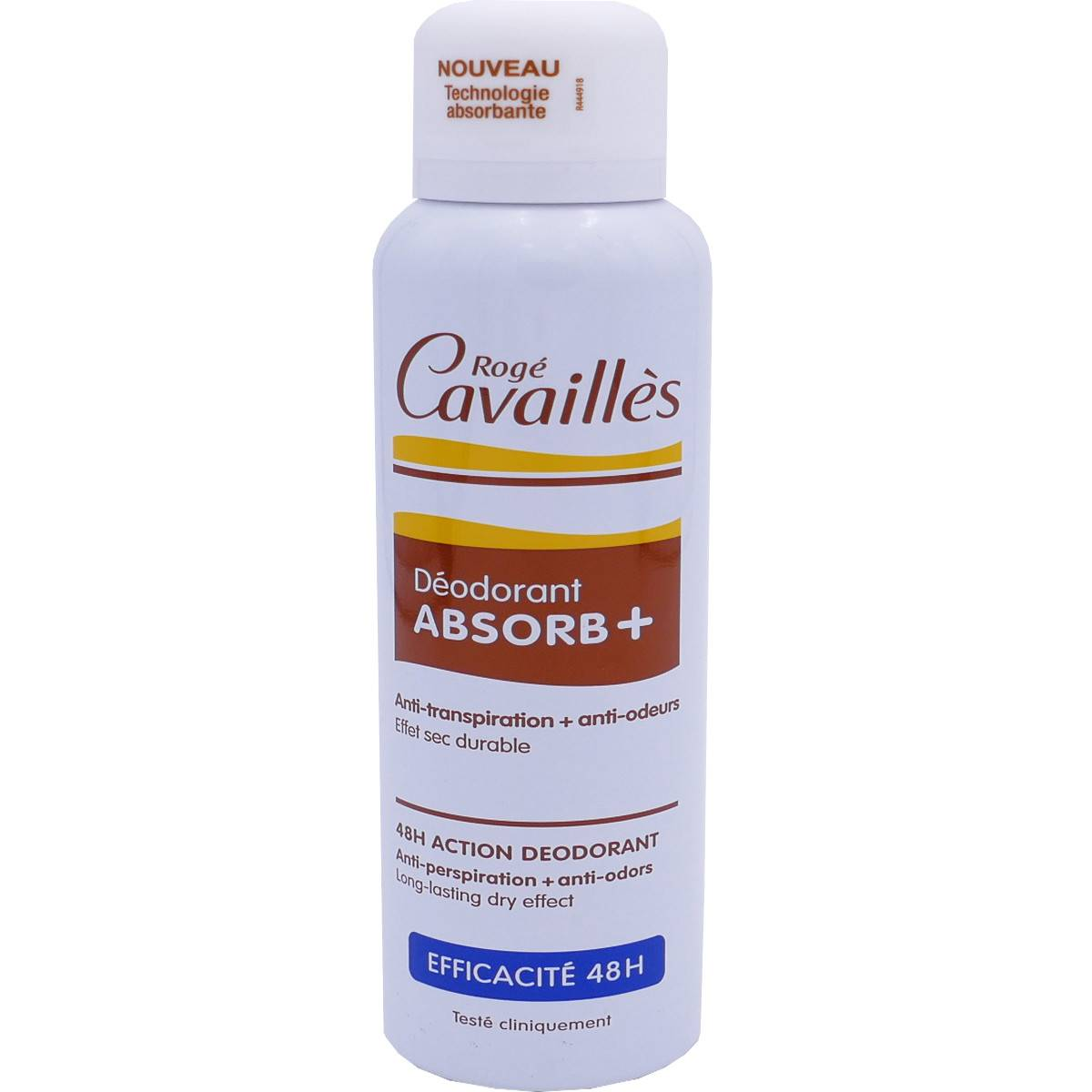Roge cavailles absorb+ anti-transpirant femme 150ml
