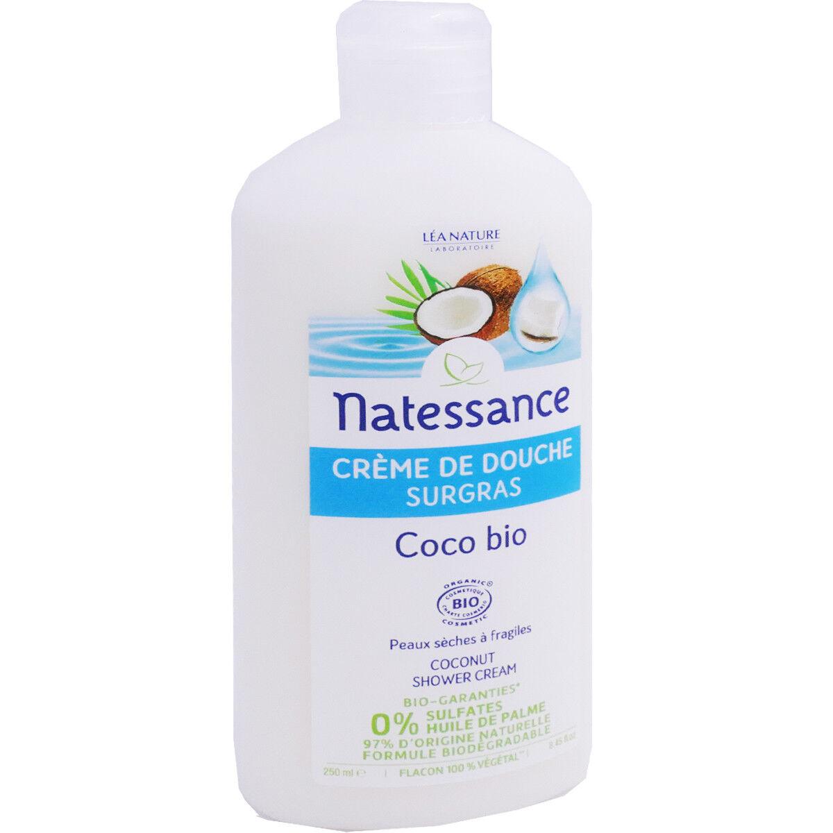 Natessance bio creme de couche coco 150 ml