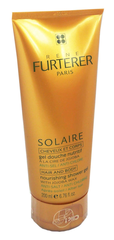 Rene furterer solaire cheveux corps gel douche 200ml