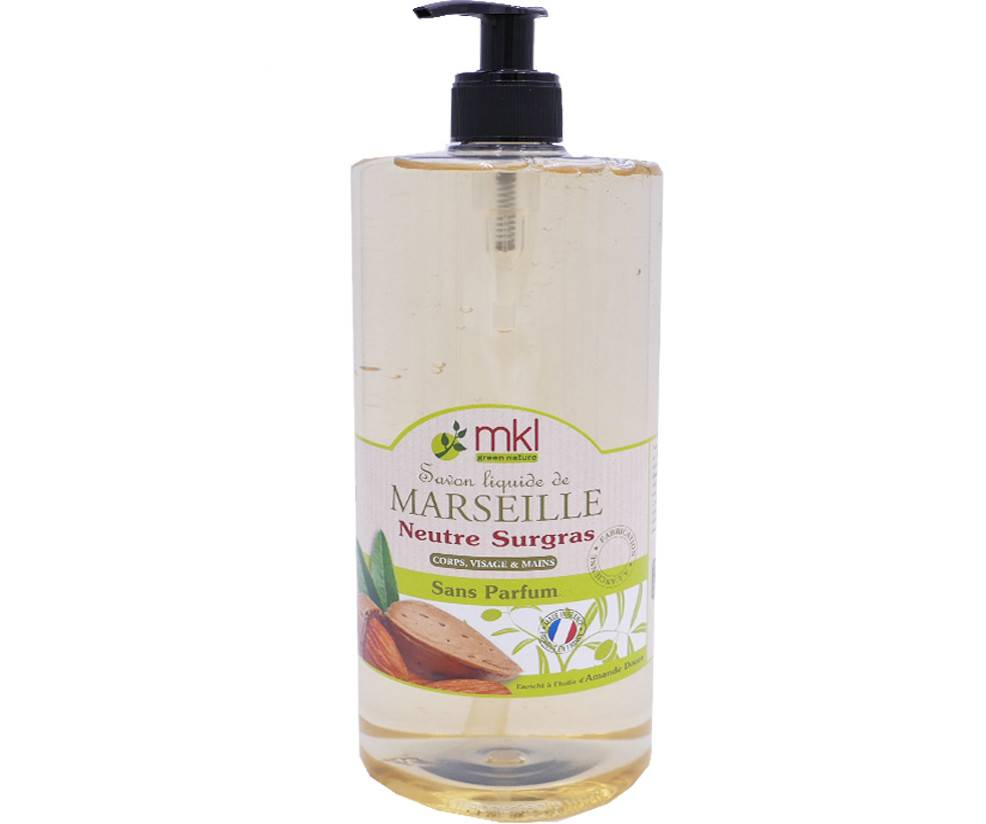 Mkl savon de marseille sans parfum 1l