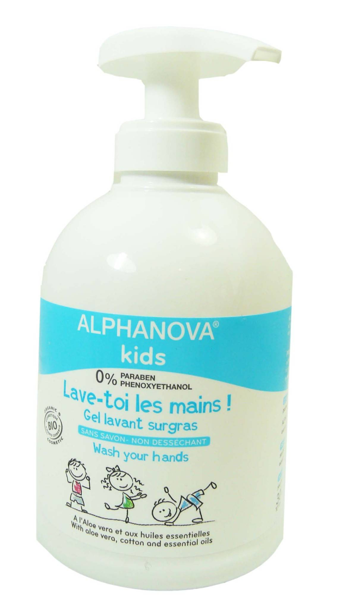 Alphanova kids 'lave toi les mains' 300ml