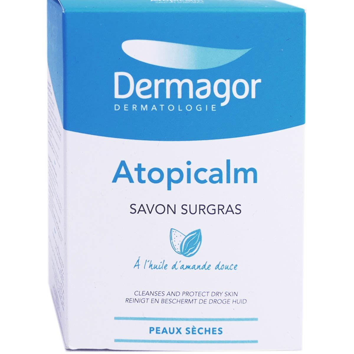 Dermagor atopicalm savon surgras px seches 150g