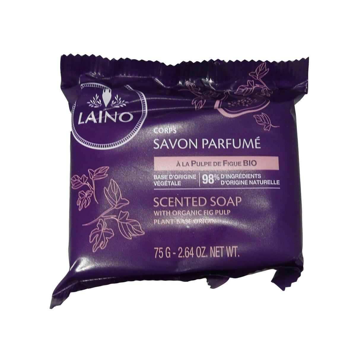 Laino savon parfume a la pulpe de figue bio 75 g