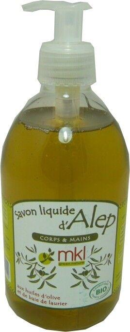 MKL Savon liquide d'alep corps & mains 500 ml