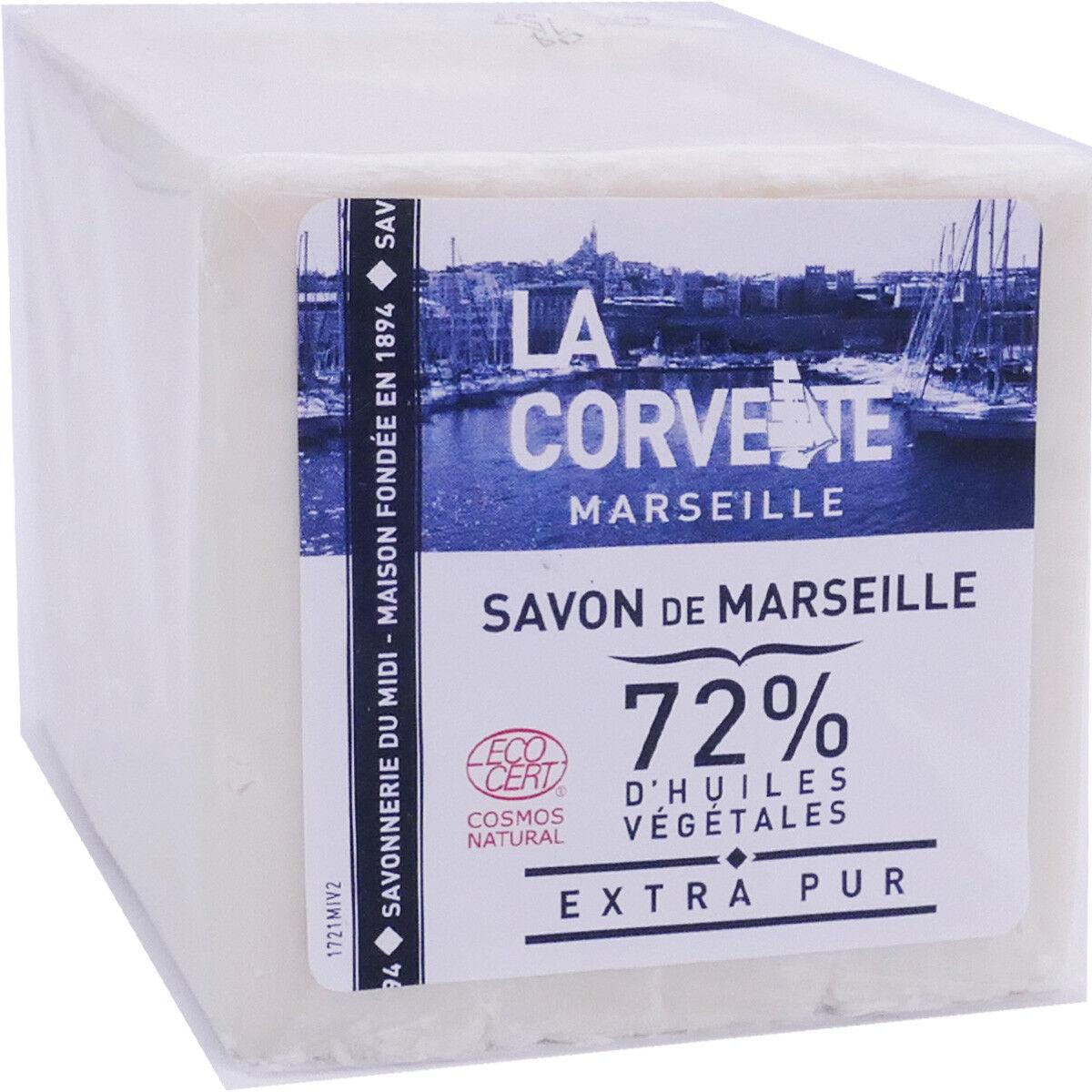 La corvette savon de marseille 300g huiles vegetales