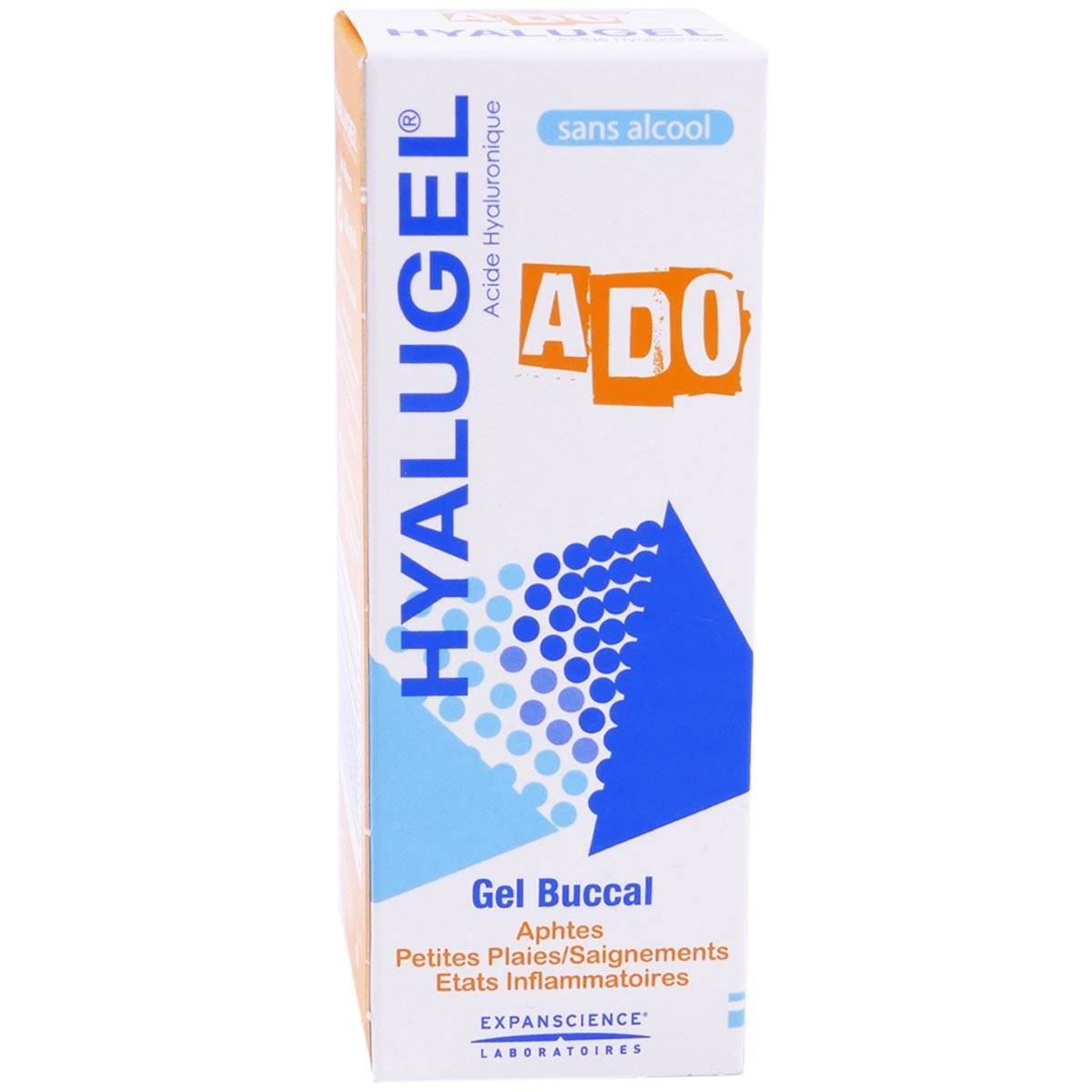 EXPANSCIENCE Hyalugel ado gel buccal 20ml