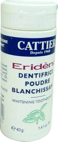 Cattier eridene dentifrice poudre blanchissant 40g