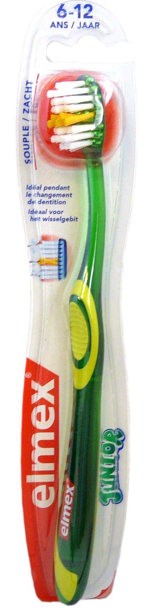Elmex brosse a dents junior souple
