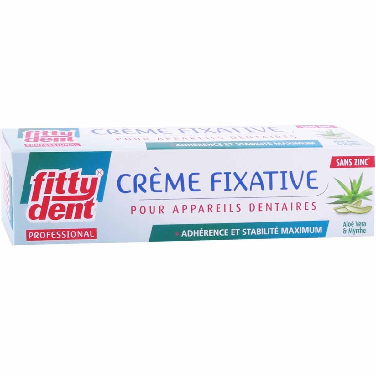 Fittydent creme fixative aloe vera myrrhe 40g