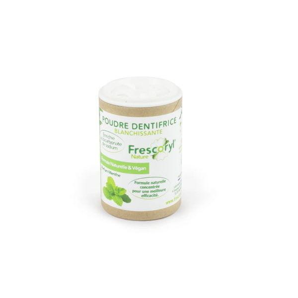 Frescoryl poudre dentifrice aloevera /menthe format voyage 40 g