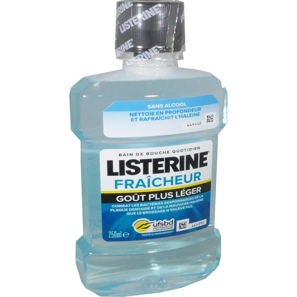 Listerine fraicheur 250 ml
