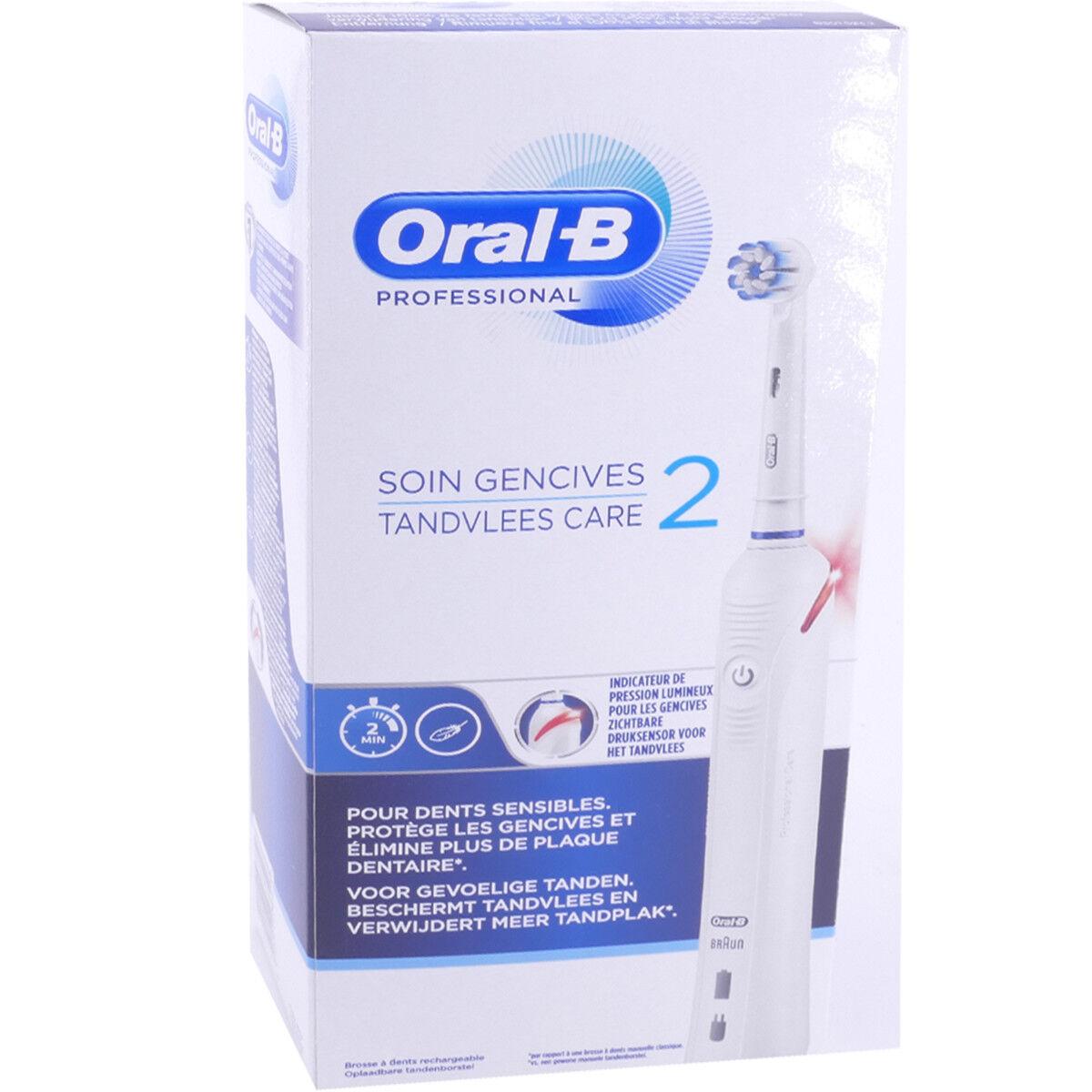 ORAL B Oral-b soin gencives 2 brosse electrique