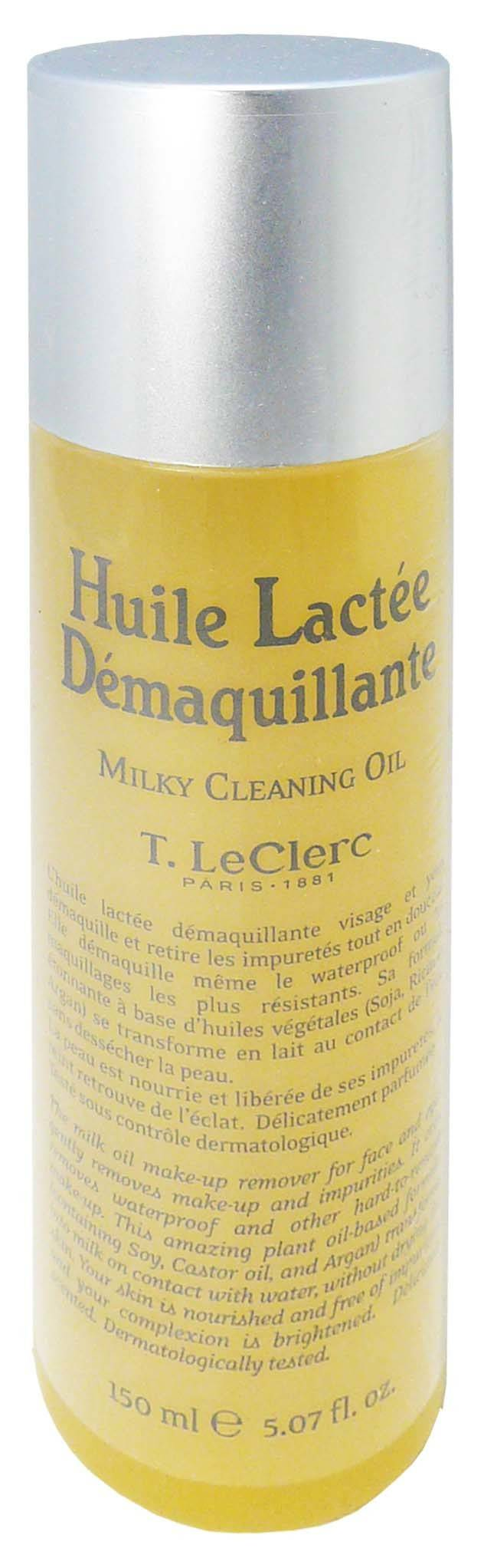 T.leclerc huile lactee demaquillante 150ml
