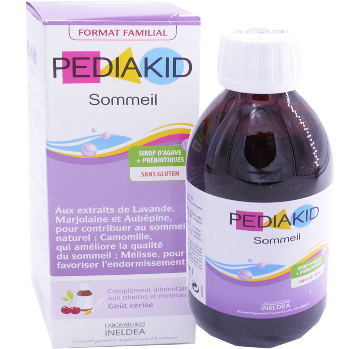 Pediakid sommeil sirop d'agave 250ml