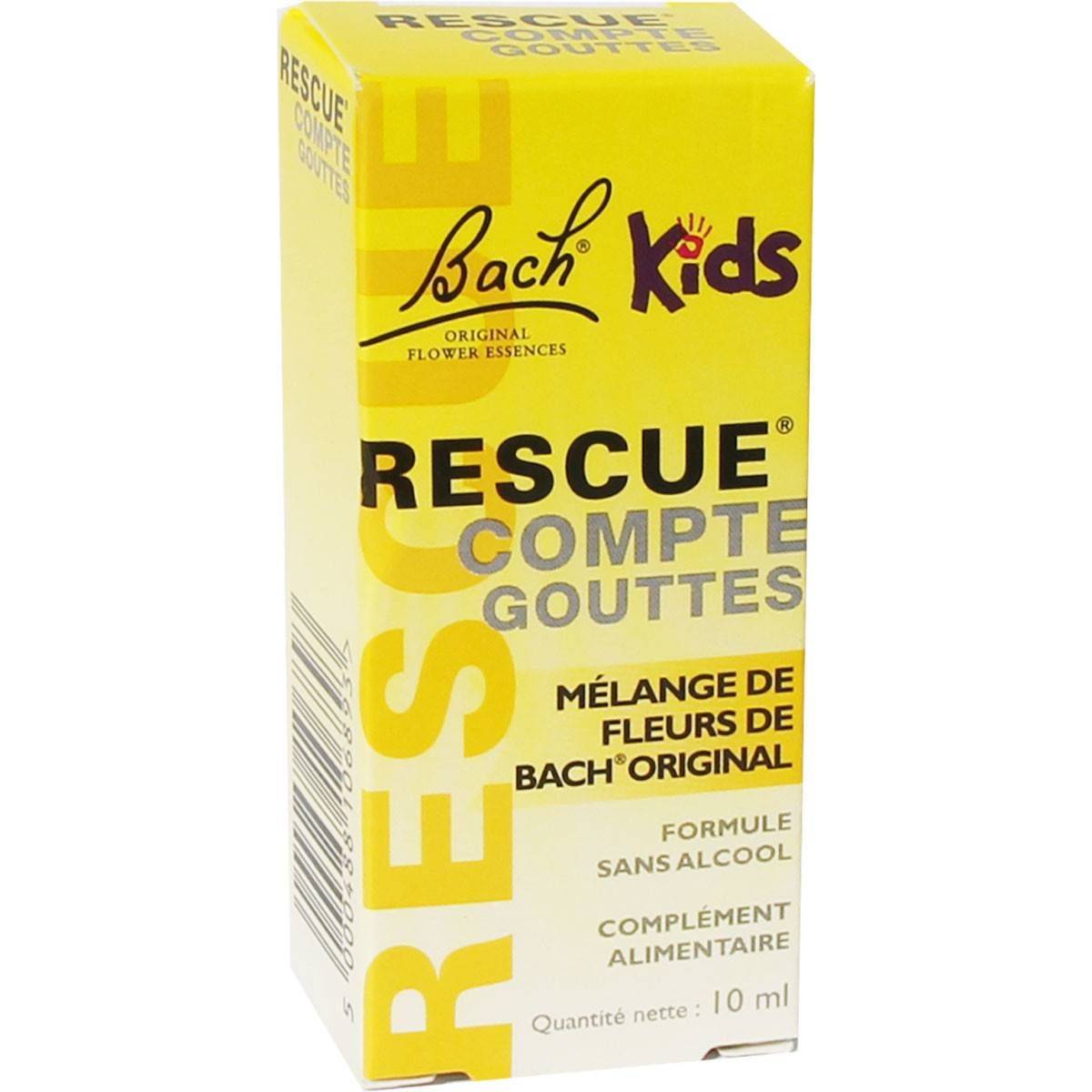 FLEUR BACH FAMADEM Bach rescue compte gouttes 10 ml kids