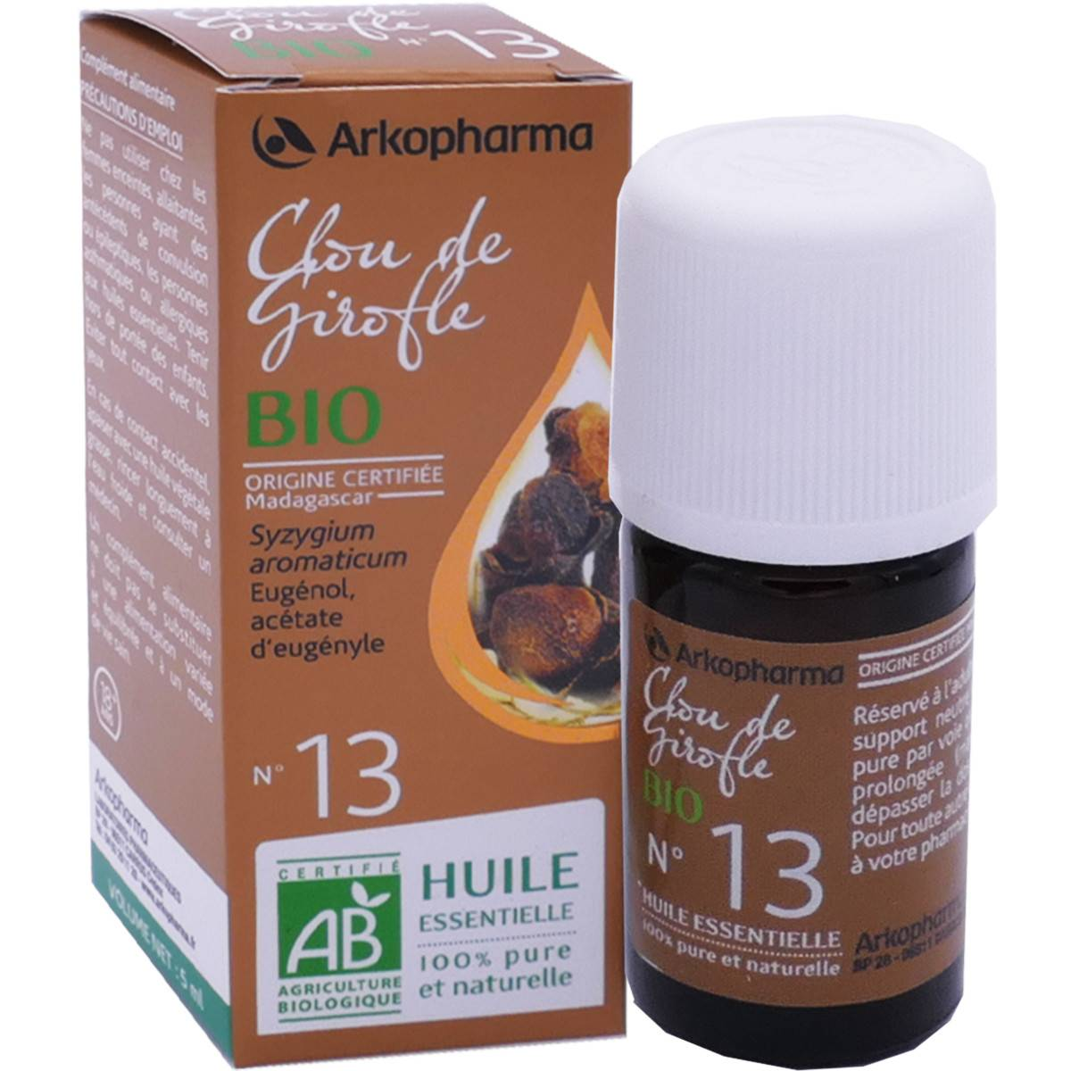 Arkopharma clou de girofle bio n°13 5 ml