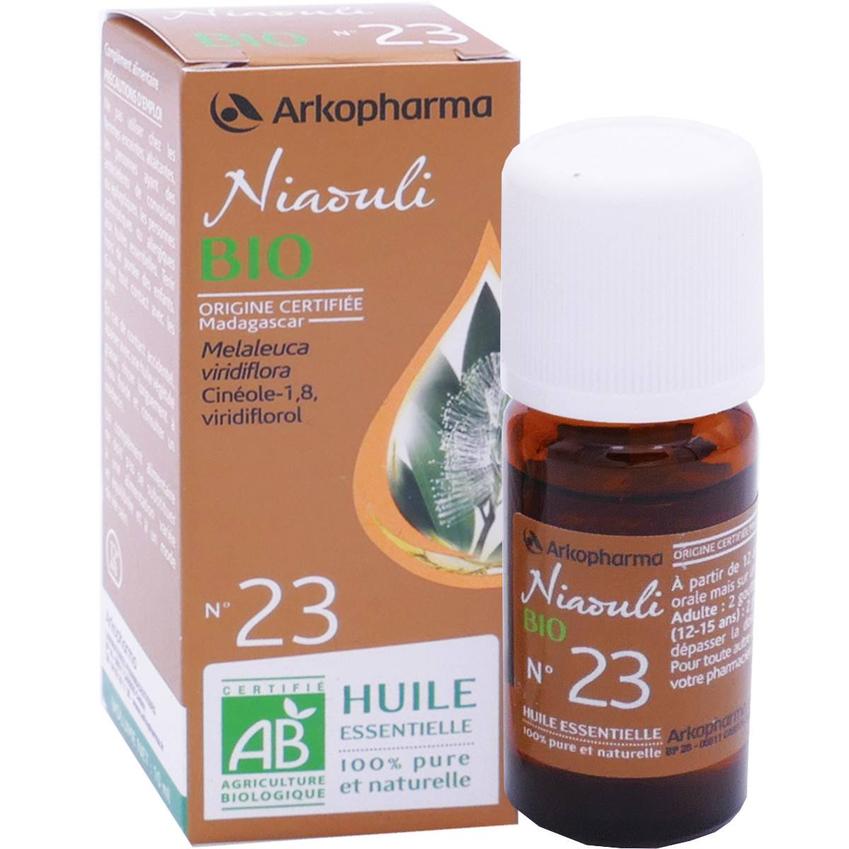 Arkopharma huile essentielle niaouli bio n°23 10 ml