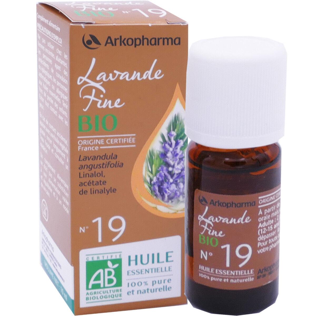 Arkopharma huile essentielle lavande fine bio n°19 10 ml