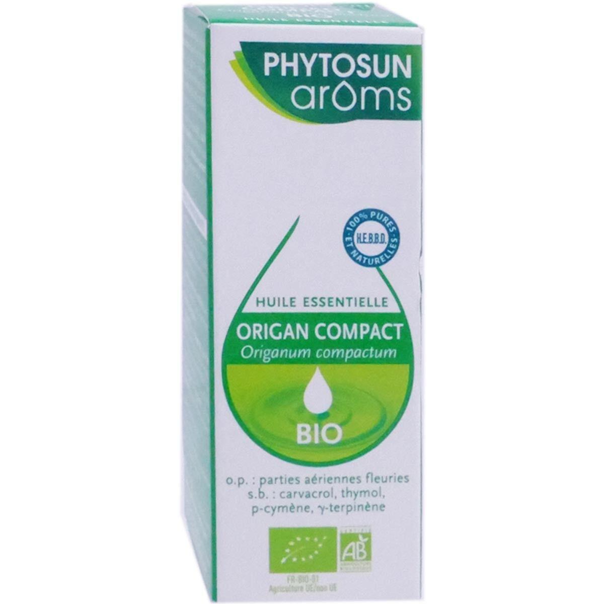 PHYTOSUN AROMS Phytosun  aroms huile essentielle origan compact bio 10ml