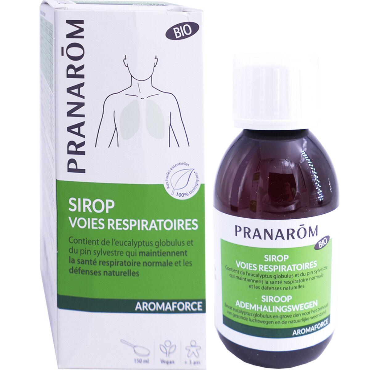 Pranarom aromaforce sirop voies respiratoires bio 150ml