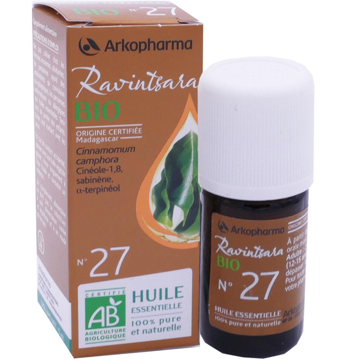Arkopharma huile essentielle ravintsara bio n°27 5 ml