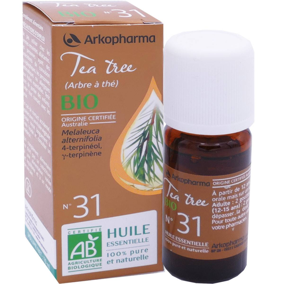 Arkopharma tea tree bio n°31 10 ml