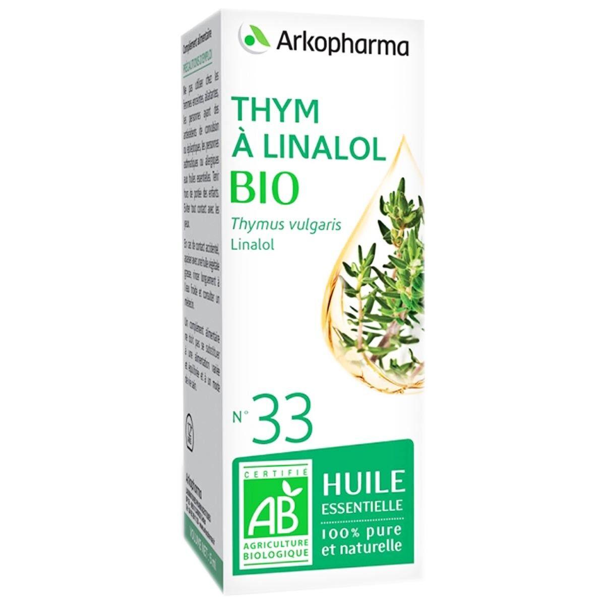 Arkopharma thym a linalol bio n°33 5 ml